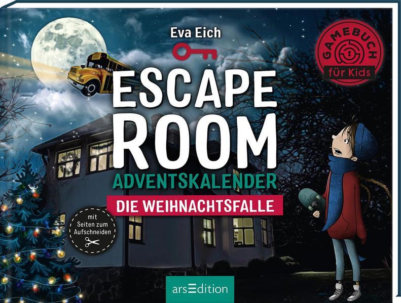 Escape Room. Die Weihnachtsfalle. Ein Gamebuch-Adventskalender für Kinder | Schöner morden mit dem Bundeslurch